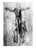 Crucifixion, British Museum, London Giclee Print by Michelangelo Buonarroti 