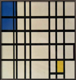 Rhytmus Prints by Piet Mondrian