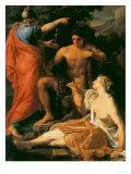 Hercules at a Crossroads, Modern Art Gallery, Pitti Palace, Florence Giclee Print by Pompeo Batoni