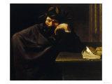 The Poet, Pitti Palace, Palatine Gallery, Florence Lámina giclée por Pier Francesco Mola