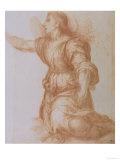 Angel, Gabinetto Dei Disegni E Delle Stampe, Uffizi Gallery, Florence Giclee Print by  Andrea del Sarto