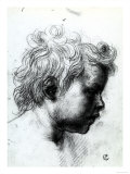 Portrait of a Child Seen in Profile, Gabinetto Dei Disegni E Delle Stampe, Uffizi Gallery, Florence Giclee Print by  Andrea del Sarto