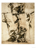 Study for the Crucifixion, Gallerie Dell'Accademia, Venice Giclee Print by Jacopo Robusti Tintoretto