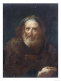 Portrait of an Old Man, Conserved at the Galleria Estense in Modena Giclee Print by Bartolommeo Nazari