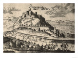 View of the Medieval City of Nitra in Hungary Giclee Print