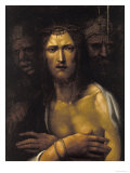 Ecce Homo, Palatine Gallery, Pitti Palace, Florence Giclée-tryk af Giovanni Antonio Bazzi Sodoma