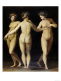 The Three Graces, Uffizi Gallery, Florence Giclee Print