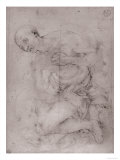 Grieving Male Figure, Uffizi Gallery, Florence Giclee Print by Jacopo da Carucci Pontormo