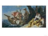 Rinaldo Abandons Armida, Uffizi Gallery, Florence Giclee Print by Giovanni Battista Tiepolo