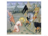 Martyrdom of Saint Ansano, Bargello National Museum, Florence Giclee Print by  Giovanni di Paolo