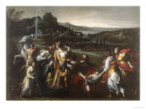 The Discovery of Moses, Conserved at the Galleria Estense in Modena Giclee Print by Giovanni Donducci