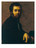 Portrait of a Man, Palatine Gallery, Pitti Palace, Florence Giclee Print by Francesco Salviati