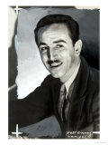 Portrait of the Animated Cartoon Artist and Producer Walt Disney Giclee Print