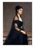 The Countess Giulia Tempestini, Modern Art Gallery, Pitti Palace, Florence Giclee Print by Giovanni Boldini