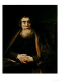 Portrait of an Old Man, Uffizi Gallery, Florence Giclee Print by  Rembrandt van Rijn