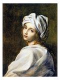 Portrait of Beatrice Cenci, Housed in the Galleria Nazionale d'Arte Antica, Rome Giclee-trykk av Guido Reni