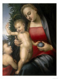 Madonna with Child and Young St. John, Conserved at the Galleria Estense in Modena Giclee Print by Tommaso Di Stefano Lunetti