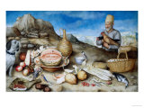 The Old Man of Artimino, Palatine Gallery, Florence Giclee Print by Giovanna Garzoni
