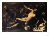 Martyrdom of Saint Bartholomew, Palatine Gallery, Pitti Palace Giclee Print by Jusepe de Ribera