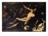 Martyrdom of Saint Bartholomew, Palatine Gallery, Pitti Palace Giclee Print by Jusepe de Ribera