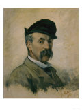 Self-Portrait, Giovanni Fattori, Uffizi Gallery, Florence Giclee Print by Giovanni Fattori