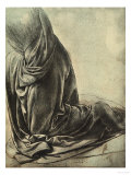 Study for the Angel's Cloak in the Virgin of the Rocks Giclee Print by  Leonardo da Vinci