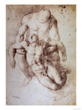 Study for 'A Deposition' Giclee Print by  Michelangelo Buonarroti