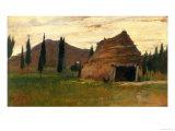 Landscape, Silvestro Lega, National Modern Art Gallery, Florence Reproduction procédé giclée par Silvestro Lega