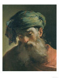 Head of an Old Man in a Turban, Vasari Corridor, Uffizi Gallery, Florence Giclee Print by Ubaldo Gandolfi