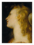 Angel&#39;s Head, Palatine Gallery, Palazzo Pitti, Florence Giclee Print by Federico Barocci