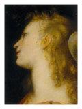 Angel's Head, Palatine Gallery, Palazzo Pitti, Florence Giclee Print by Federico Barocci