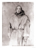 Portrait of a Friar, Gabinetto Dei Disegni E Delle Stampe, Uffizi Gallery, Florence Giclee Print by Jacopo da Carucci Pontormo