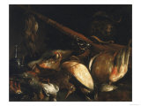 Dead Birds and Arquebus, Uffizi Gallery, Florence Premium Giclee Print by Jusepe de Ribera