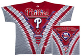 Phillies V-Dye Shirt