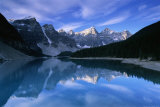 Lake Moraine, Banff National Park, Canada, Photographic Print