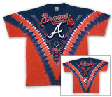 MLB: Atlanta Braves - V-Dye T-Shirt