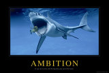 Ambition, en anglais Posters
