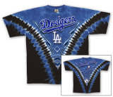 MLB: Los Angeles Dodgers - V-Dye T-shirts