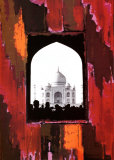 Taj Mahal Prints by Anne Valverde