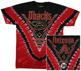 MLB - Diamondbacks Tie Dye Logo T-shirts