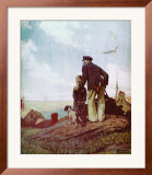 Outward Bound Print by Norman Rockwell