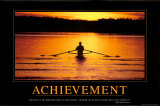 Accomplissement Poster