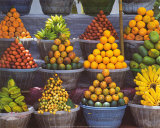 Fruit Stand, East Bali, Indonesia Art