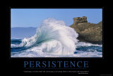 Persistance (en anglais) Posters