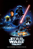 Stars Wars-trilogin- Rymdimperiet slår tillbaka Posters