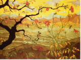 Apple Tree with Red Fruit, c.1902 Stretched Canvas Print by Paul Ranson