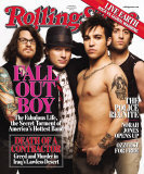 Fall Out Boy, Rolling Stone no. 1021, March 2007 Photographic Print by Peter Yang