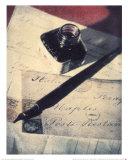 Vintage Pen Prints by Tara Wrobel