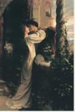 Romeo i Julia Płótno naciągnięte na blejtram - reprodukcja autor Frank Bernard Dicksee