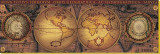 Orbis Geographica II Stretched Canvas Print